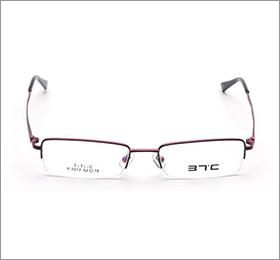 37℃眼镜架7217 C5外咖内银