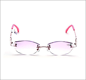 幻影眼镜架122 C26粉红